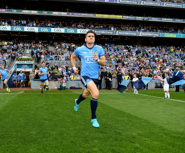 Bernard Brogan is possibly the greatest emblem of this Dublin side's determination to succeed. Photo: Seb Daly/Sportsfile