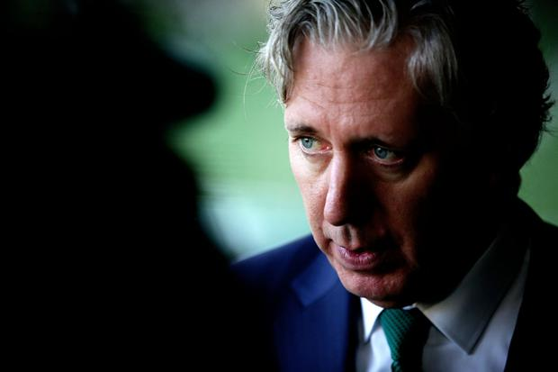 John Delaney is believed to have left with an exit package in the region of €350,000 – considerably less than he had initially been looking for. Photo: Gerry Mooney