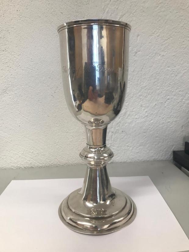 The 17th century chalice stolen in 1998