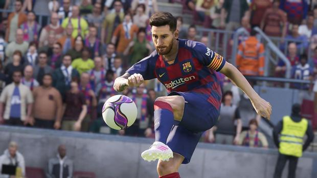 Lionel Messi in eFootball PES 2020