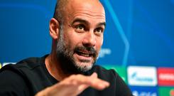 Manchester City manager Pep Guardiola. Photo: Nathan Stirk/Getty Images