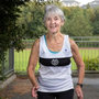 'I just keep running': Ann Woodlock, at the Donore Harriers running ground in Dublin, ran at the European Masters last month. Photo: Tony Gavin