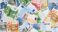A German bank is expected to shake up the savings market here by offering people with deposits options to put their money in bank accounts across Europe. Stock image
