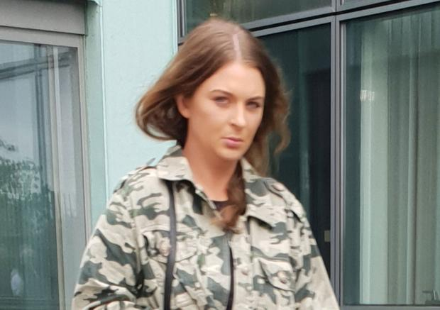 Amy Brown's partner had been facing a 'heavy sentence'