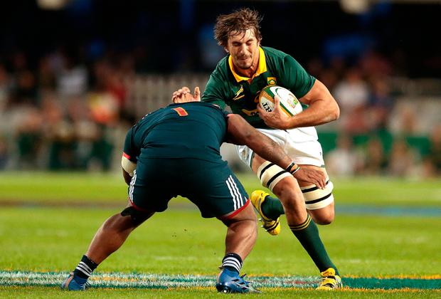Springboks issue statement as legal proceeding against Etzebeth brought