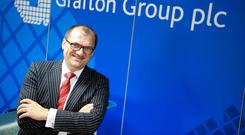 Positive outcome: Grafton Group CEO Gavin Slark. Photo: El Keegan