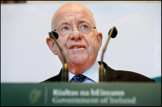 Probe: Justice Minister Charlie Flanagan said he would be concerned if gagging clauses were being insisted upon as a matter of policy. Photo: Steve Humphreys