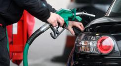 Going up: Prices will rise immediately at petrol stations. Stock picture