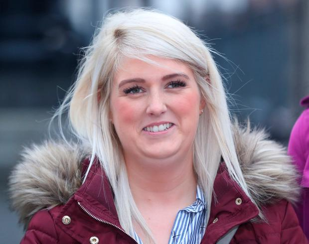 'Massive stress': Sarah Ewart had to travel to London for an abortion. Photo: Niall Carson/PA Wire