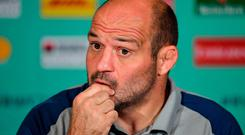 Captain Rory Best during an Ireland Rugby press conference