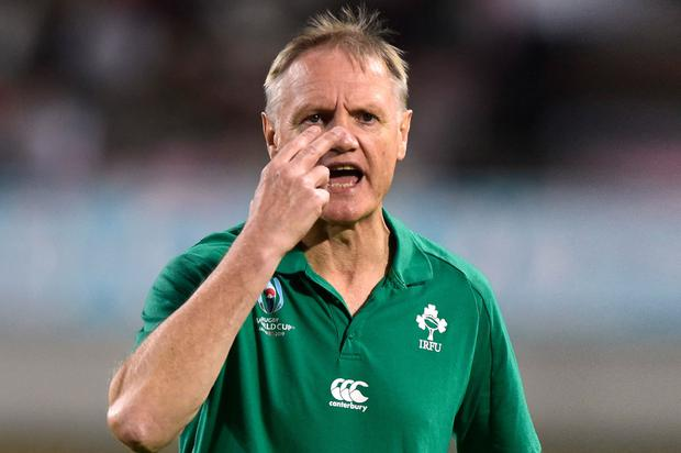 The success of 2018 seems like a long time ago for Joe Schmidt. Photo: Rebecca Naden