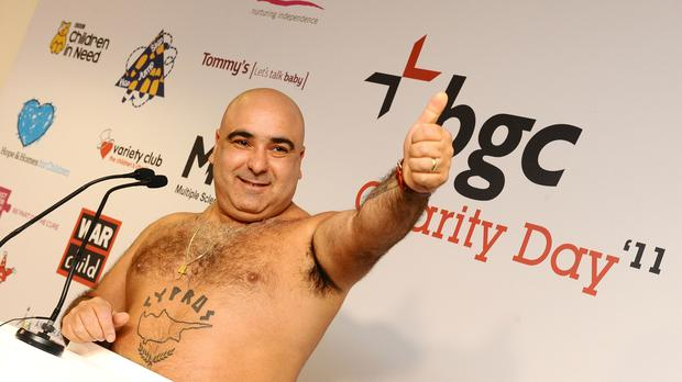 Stavros Flatley are in the final. (Ian West/PA)