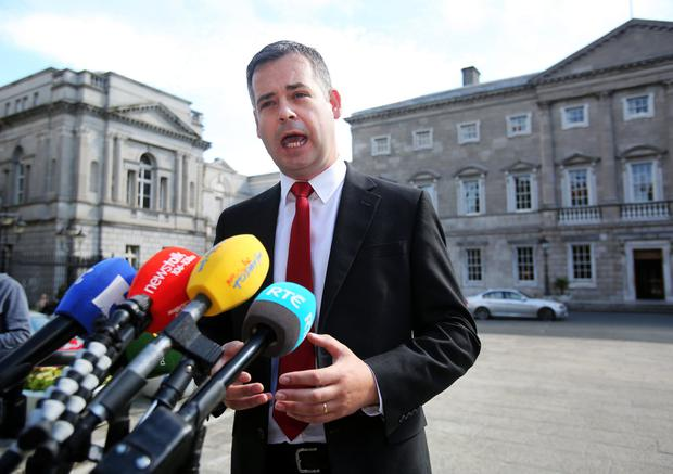 Pearse Doherty wants Central Bank to face committee. Pic Tom Burke