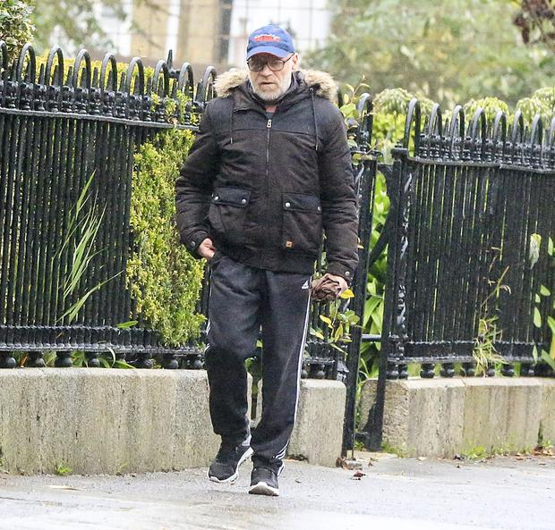 Convicted rapist Michael Murray on the streets of Sandymount. Photo: Gerry Mooney
