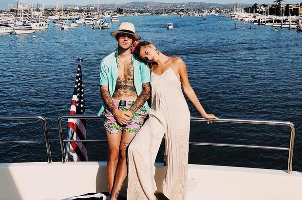Hailey and Justin Bieber married for the second time. Picture: Instagram