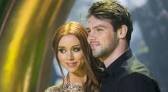 Ben Foden and Una Healy for the