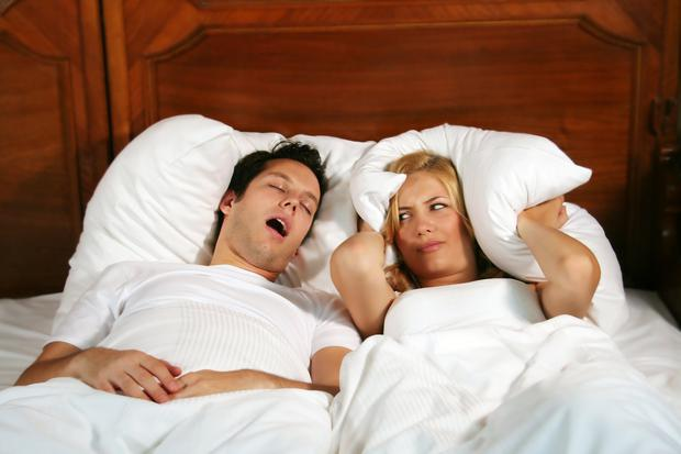 Bedding down: Snoring is the most annoying bedtime habit, according to a sleep survey