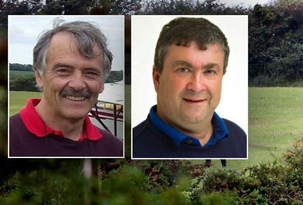 Peter Tawse (61), from Old Ross, Co Wexford (pictured left) and John Finnan (52), from Athy, Co Kildare, died when the light aircraft they were in crashed at Gibletstown near Duncormick in Co Wexford