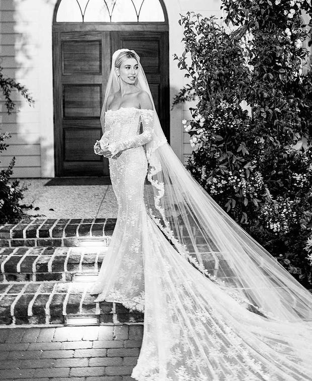 Hailey Baldwin married Justin Bieber in South Carolina. Picture: Instagram