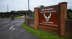 A general view of RAF Croughton near Brackley, England. Photo: Peter Summers/Getty Images