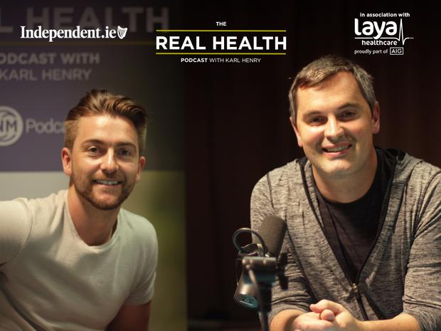 Karl Henry with this week's guest Brian O'Loughlin of Movement101