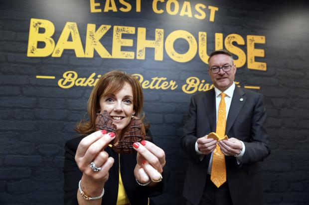 How the cookie crumbles: East Coast Bakehouse founders Alison Cowzer and Michael Carey are planning fundraising to expand the business. Photo: Jason Clarke Photography