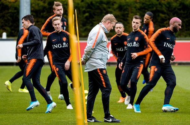 Roanld Koeman knows that Northern Ireland will be difficult opposition in Rotterdam