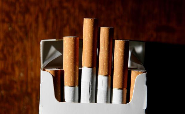 'I'm not alone in thinking that the tobacco industry is evil. In fact, I'm in very good company, for Professor John Crown, one of our most eminent and internationally respected oncologists, has tagged the industry as precisely that in the past. Evil' (stock photo)