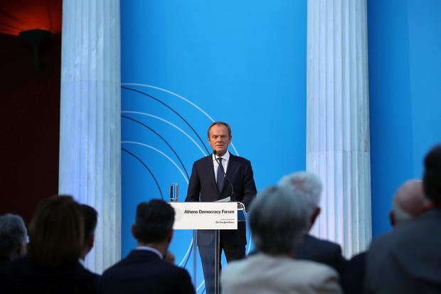 Warning: European Council President Donald Tusk. Picture: Reuters