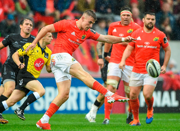 In action at Thomond Park against Dragons. Photo: Matt Browne/Sportsfile