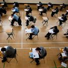 Exam time: Fears are that many are taking the higher paper with a '40pc will do' attitude. Stock picture