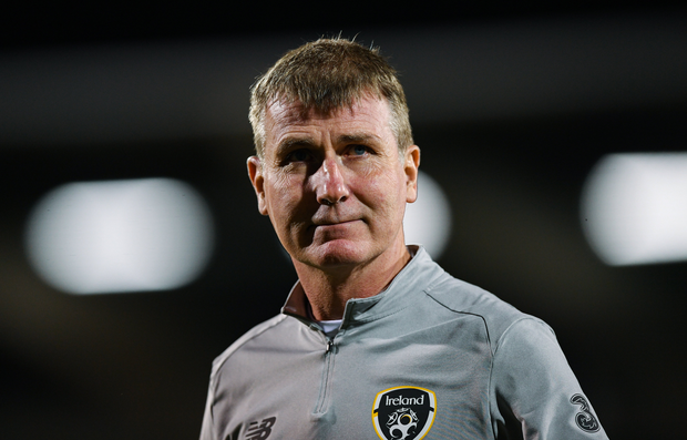 Republic of Ireland U21 head coach Stephen Kenny ahead of the UEFA European U21 Championship Qualifier Group 1 match between Republic of Ireland and Italy at Tallaght Stadium in Tallaght, Dublin. Photo by Eóin Noonan/Sportsfile