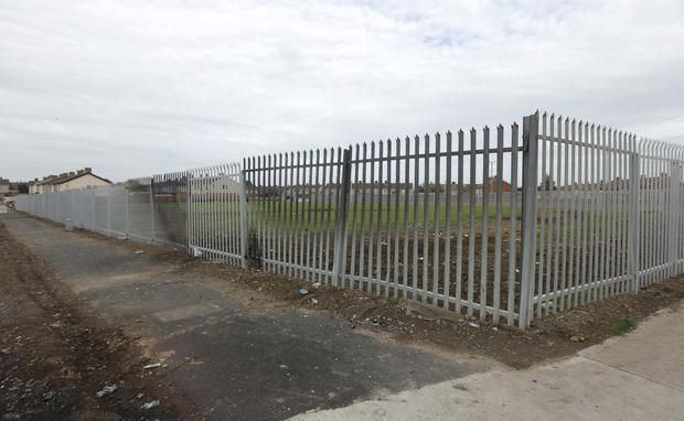 The site off Cherry Orchard Avenue in Dublin