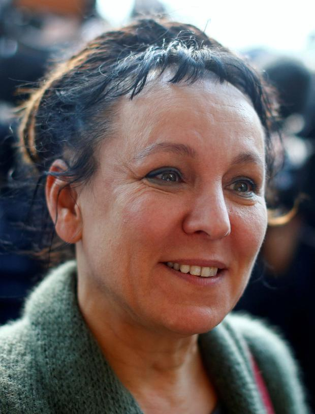 Olga Tokarczuk emerged as the winner for 2018. Picture: Reuters