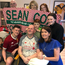 Sean Cox and family members