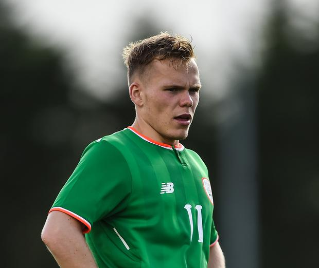 Ireland underage international Anthony Scully is in great form for West Ham