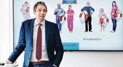 Demanding focus on waiting lists: Health Minister Simon Harris. Photo: Sasko Lazarov / Photocall Ireland