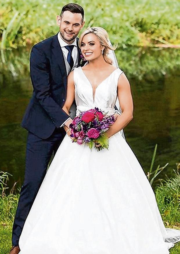 'Best adventure yet': Anna Geary posted this wedding day picture with her husband Kevin Sexton on her Instagram account yesterday