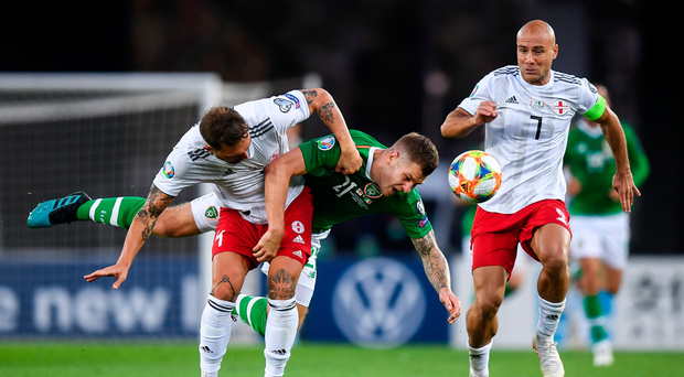 Ireland drop points in Tbilisi as Mick McCarthy's men lack spark in dour Georgia draw