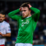 Ireland's Aaron Connolly reacts after a missed opportunity on goal during the 0-0 Euro 2020 qualifier draw with Georgia in Tbilisi, Georgia. Photo: Stephen McCarthy/Sportsfile
