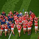 The Cork minor footballers celebrate their victory at Croke Park earlier this year but it's changes to the club minor age-grade that could damage participation levels in the game. Photo: Stephen McCarthy/Sportsfile