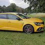 The Renault Megane RS Trophy in Phoenix Park last week