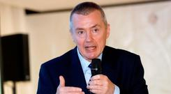 Blunt: IAG chief Willie Walsh says Shannon shouldn't expect 'someone else to pay the bills to do the basics'. Photo: Dario Pignatelli/Bloomberg