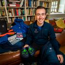Kit Adams is swapping life in Co Down for a role as a postman in Antarctica Photo credit: Liam McBurney/PA Wire
