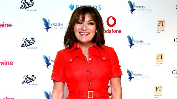 Lorraine Kelly attending The Women of The Year Lunch and Awards 2019 at the Royal Lancaster Hotel, London (Ian West/PA)