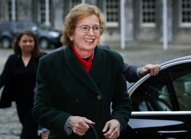 Change of mindset needed: Former President Mary Robinson. Photo: Steve Humphreys