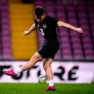 Rising star: Aaron Connolly has been making waves with Brighton in the Premier League and could be set to earn his first senior international start tonight. Photo: Sportsfile