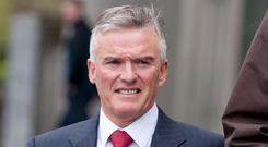Ivor Callely is being sued over outstanding property loans. Photo: Collins Courts