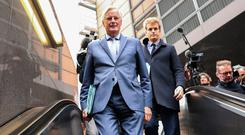 Negotiator Michel Barnier's EU taskforce and a team from the UK worked through the weekend and into yesterday night. AP Photo/Francisco Seco