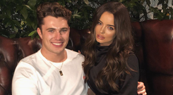 Curtis Pritchard and Maura Higgins are officially dating. Picture: Instagram